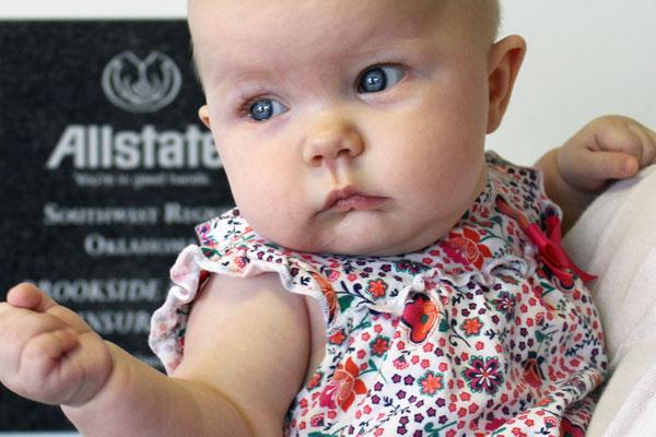 Tulsa Life Insurance Baby
